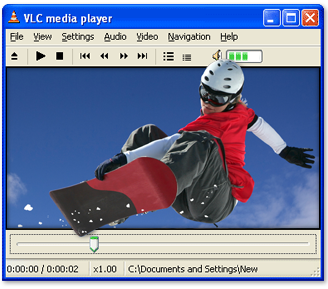 VLC Media Player Demo